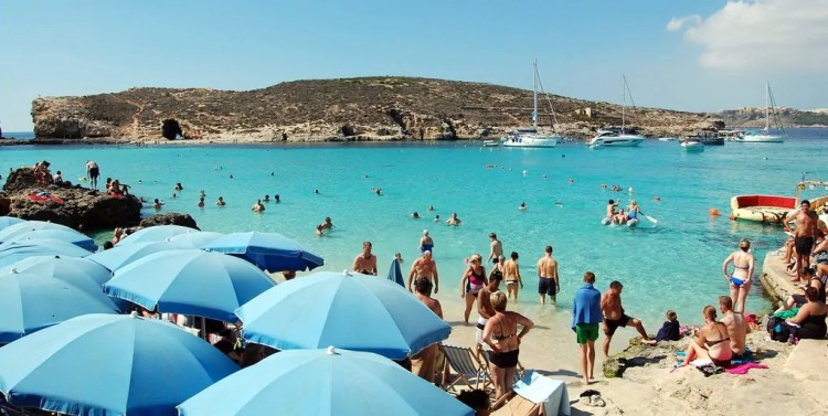 Malta - Comino - Swimming