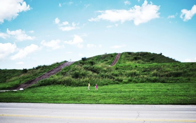 Monk's Mound in Cahokia
