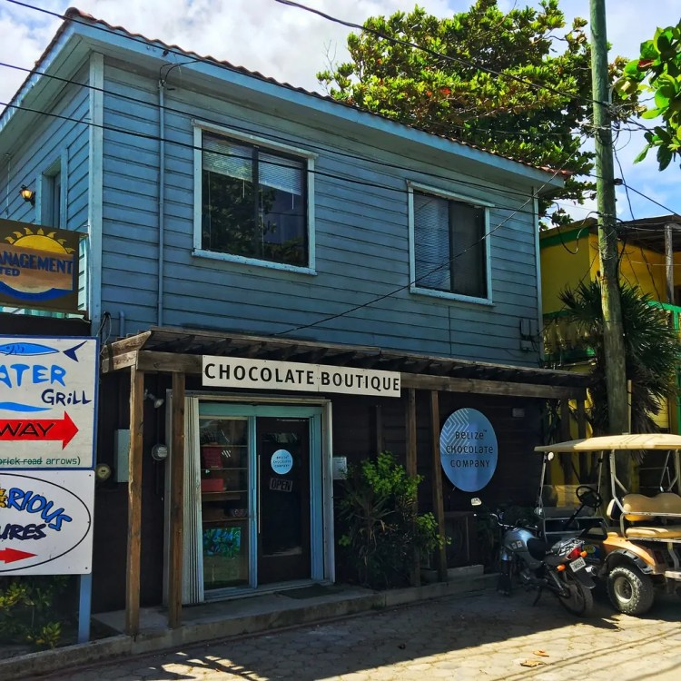 The Belize Chocolate Company in San Pedro, Belize