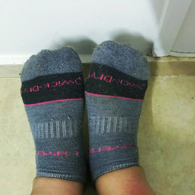 Vaseline + Socks = Soft Feet