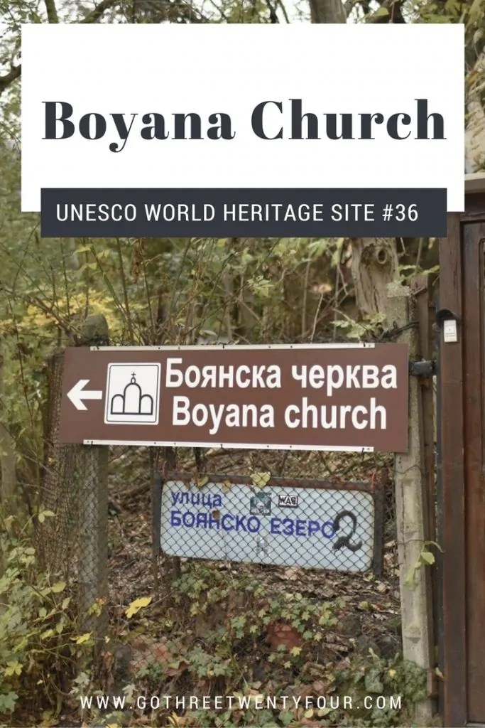 UNESCO World Heritage Site #36: Boyana Church