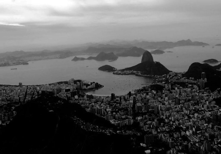 View of Sugar Loaf and Rio de Janeiro, composed using the Rule of Thirds