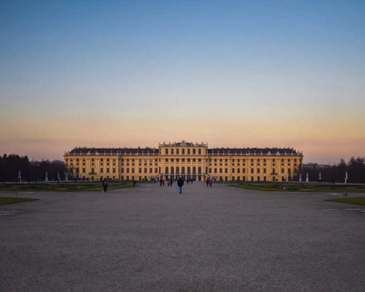 Schoenbrunn at Dusk