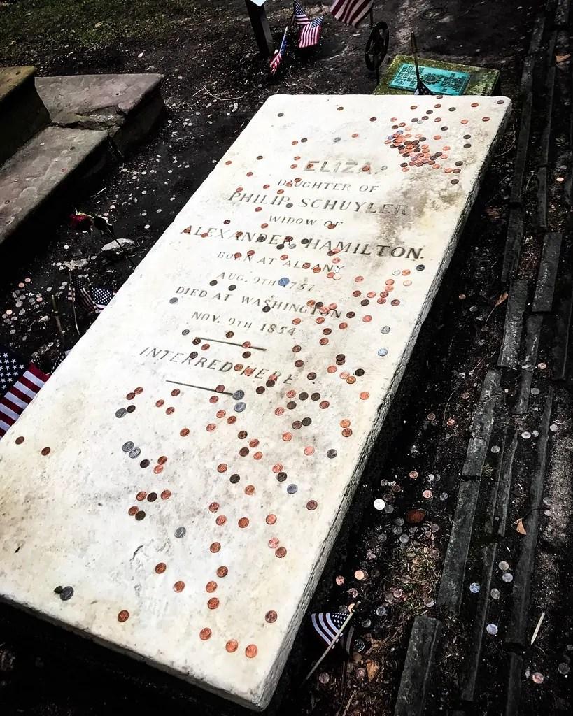 Elizabeth Schuyler Hamilton's Grave