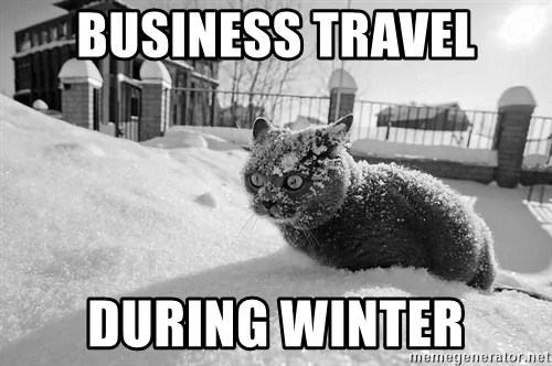 business travel during winter?resize=500%2C332&ssl=1 101 hilarious travel and vacation memes for every kind of traveler