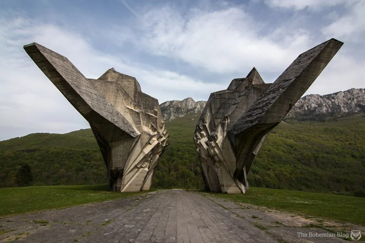 Valley of Heroes Monument at Tjentište, Bosnia & Herzegovina