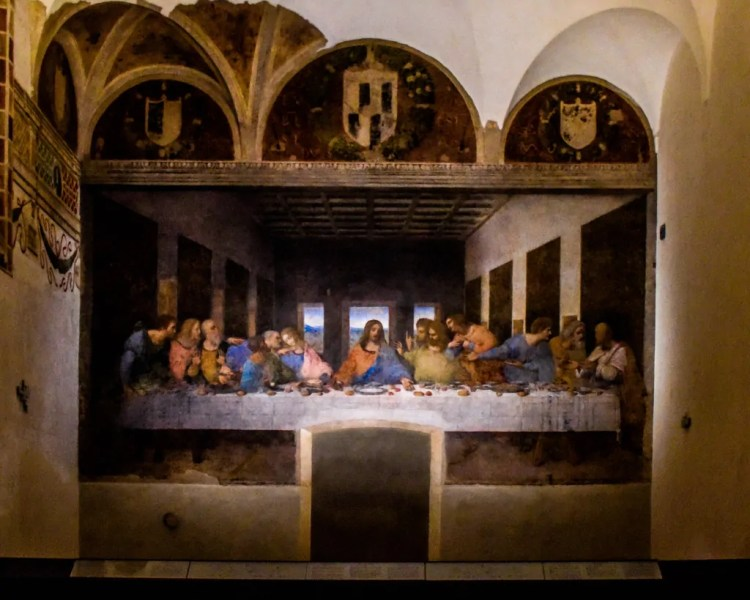 Leonardo DiVinci's 'The Last Supper'