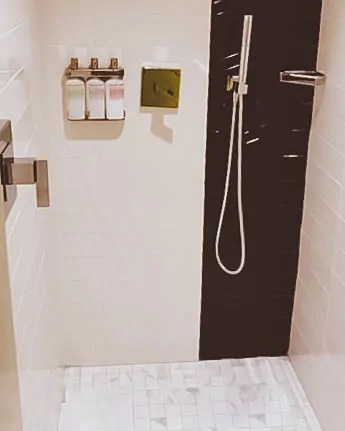 My walk in shower