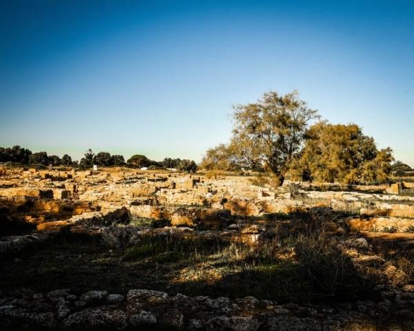 Inside the Punic City of Kerkuane