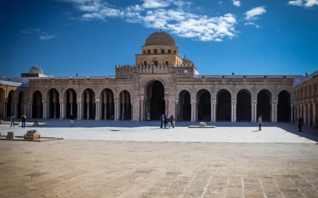 The Great Mosque in Kairouan, the fourth holiest city in Islam