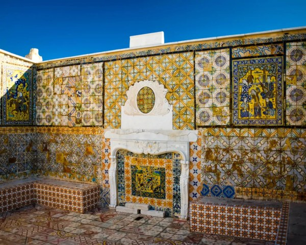 A rooftop in the Medina of Tunis