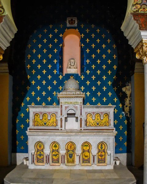 The altar of Saint Louis Cathedral