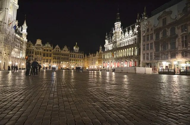The Grand Place at Night