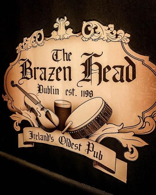 Dublin's Oldest Pub - The Brazen Head