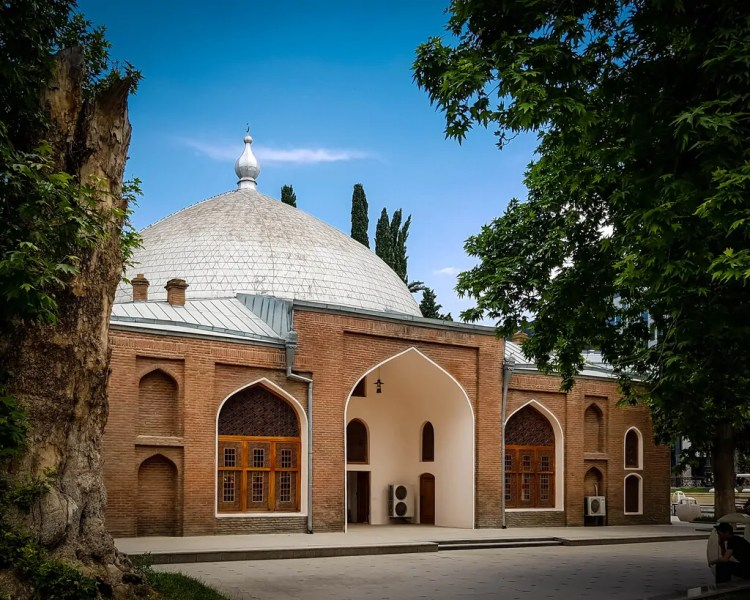 Azerbaijan - Ganja - Shah Abbas Mosque / Juma Mosque / The Friday Mosque