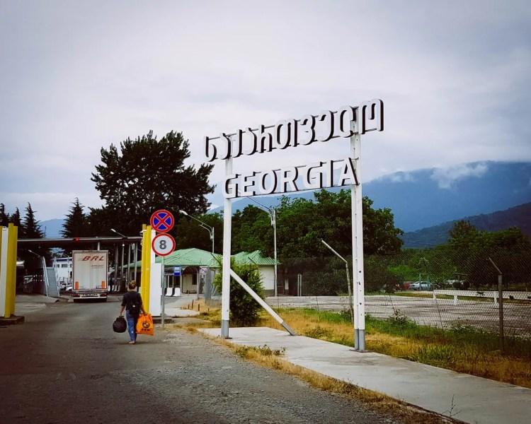 Azerbaijan - Georgia Border