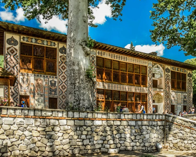 Azerbaijan - Sheki - Palace of the Sheki Khans