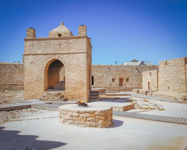 Azerbaijan - Baku - Ateshgah of Baku Fire Temple