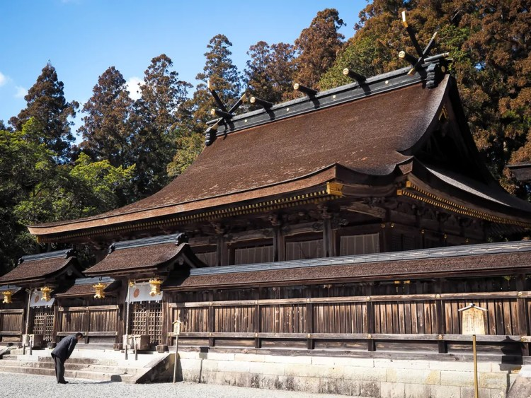 Kumano Hongu Taisha. Photo credit by Nick Kembel. Used with permission.