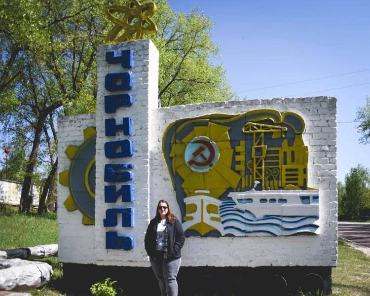 Ukraine - Chernobyl - Chernobyl Sign