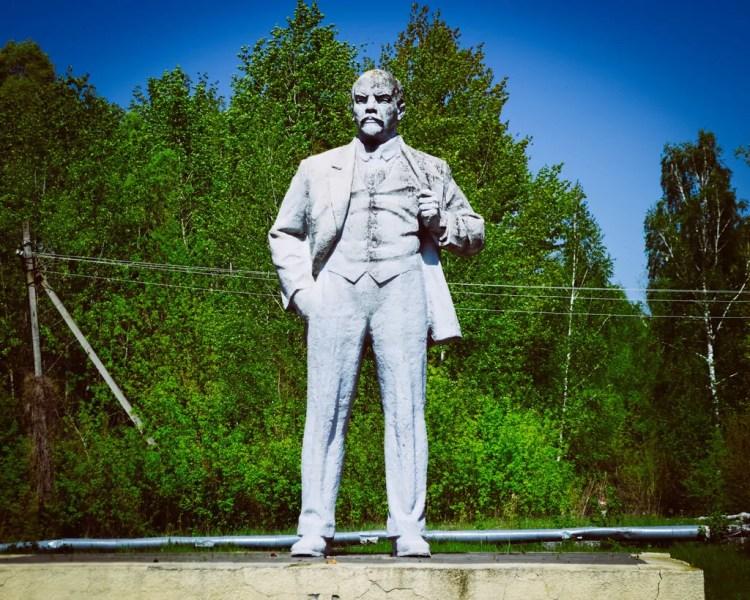 Ukraine - Chernobyl - Lenin Statue
