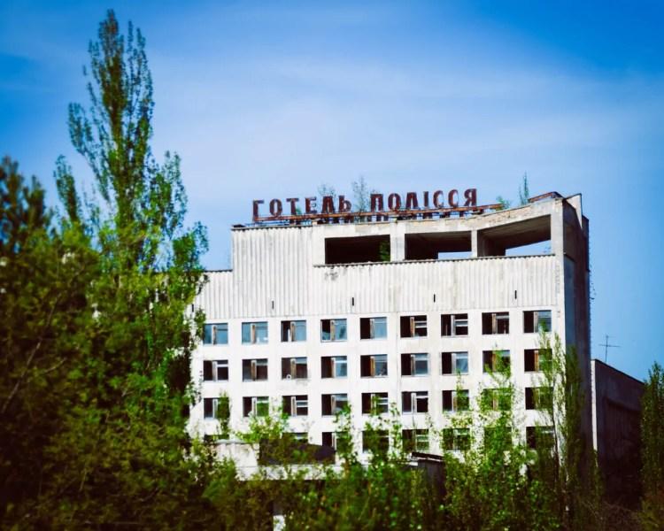 Ukraine - Chernobyl - Pripyat Hotel