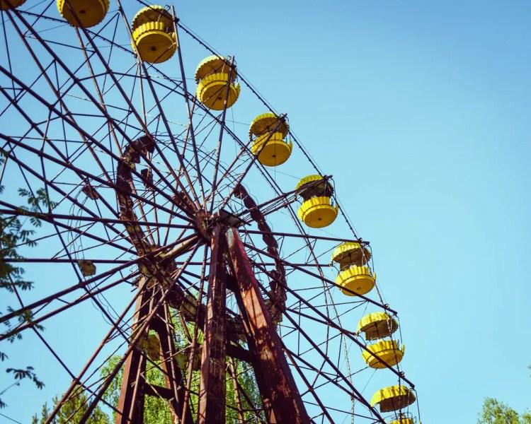 Ukraine - Chernobyl - Pripyat Ferris Wheel