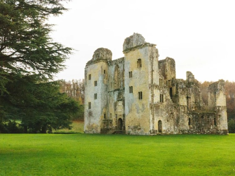 Old Wardour Castle. Photo by Caroline Peterson. Reused with Permission.