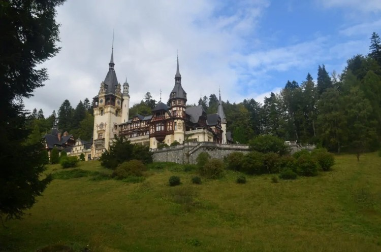 Peles Castle. Picture by Hannah Logan. Reused with Permission.