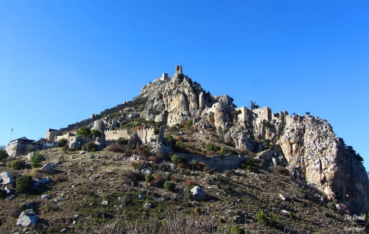 St Hilarion Castle. Photo by Joanne Amos. Reused with Permission.