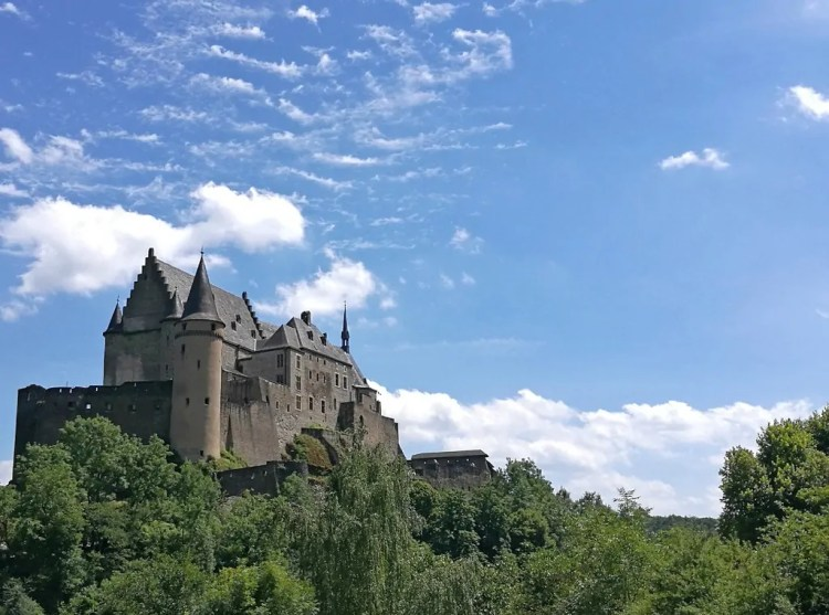 Vianden Castle. Picture by Kristy Atkinson. Reused with Permission.