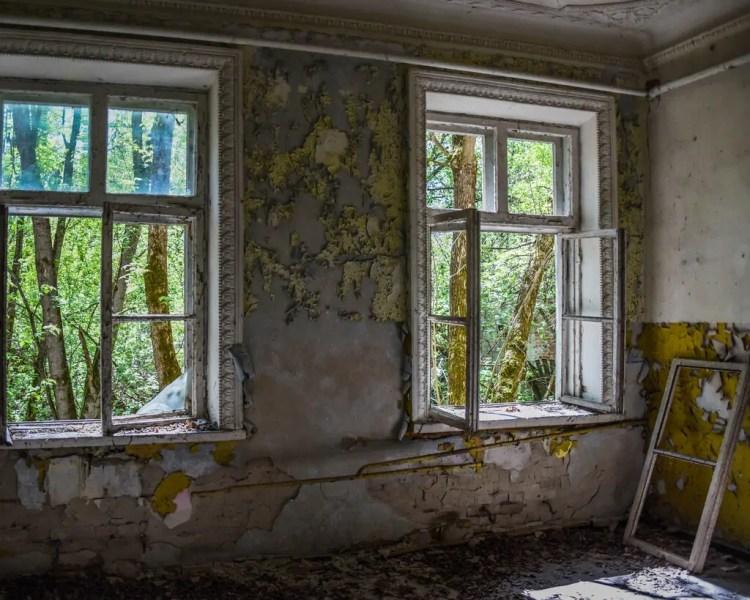 Ukraine - Chernobyl - Houses