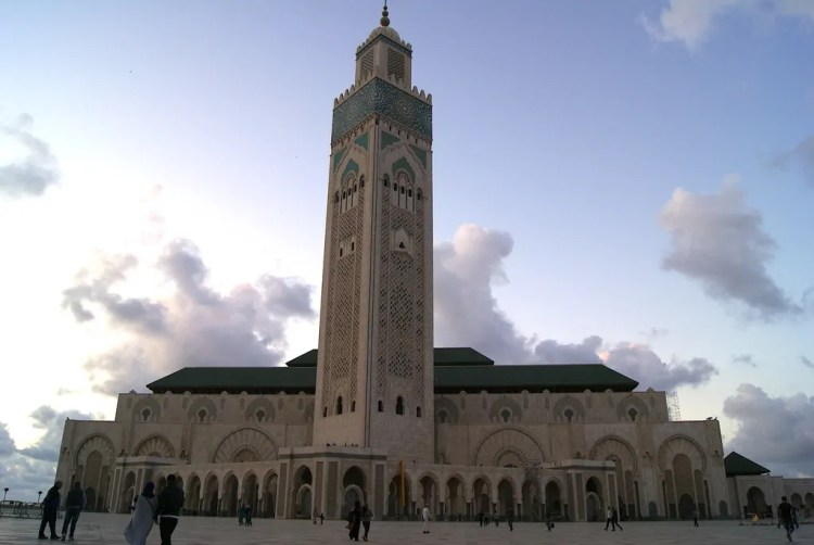 Hassan II Mosque. Photo by Sabrina Bos. Reused with Permission.