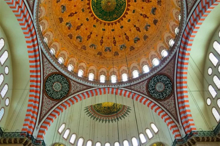 Suleimaniye Mosque. Picture by Margarita Steinhardt. Reused with Permission.