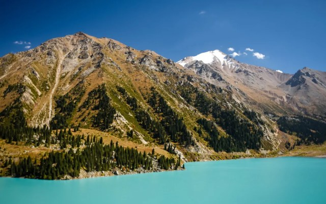 Pictures of Big Almaty Lake in Kazakhstan