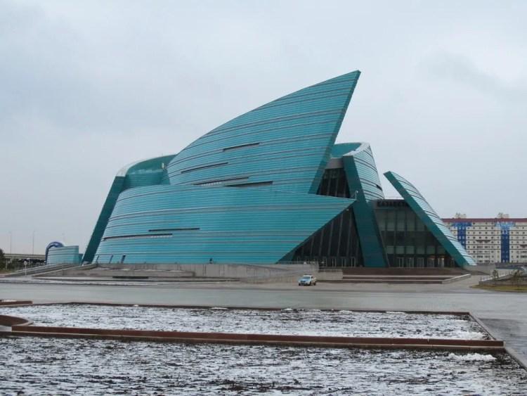 Astana, the ultra modern capital of Kazakhstan