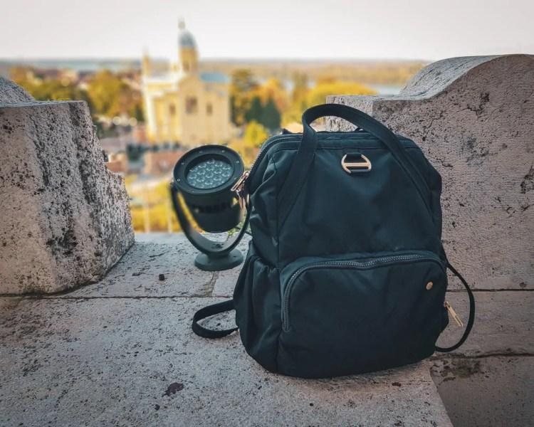 Serbia - Belgrade - Day Bag Pacsafe