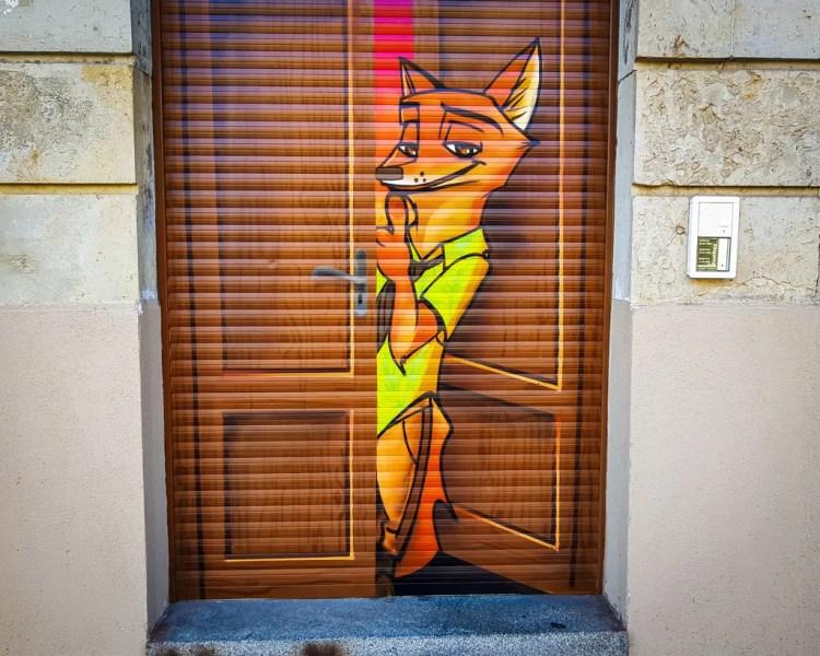 Germany - Dresden Neustadt - Street Art