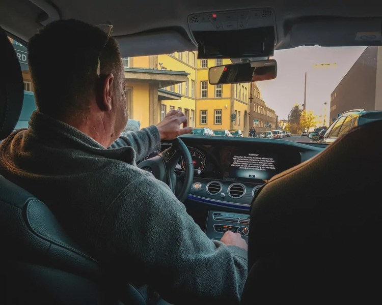 Germany - Dresden - Taxi