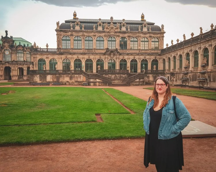 Germany - Dresden - Zwinger Stephanie