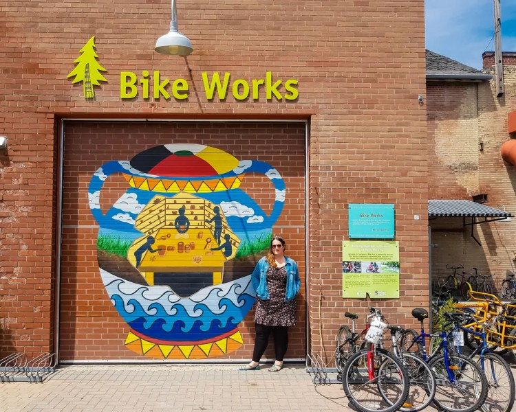 Canada - Toronto -Stephanie Bike Works