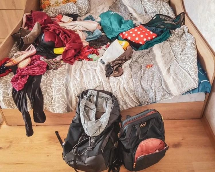 Bulgaria - Sofia - Packing before a trip