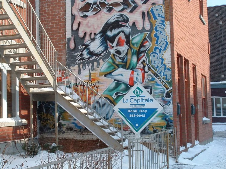 Canada - Montreal - Street Art - Pixabay