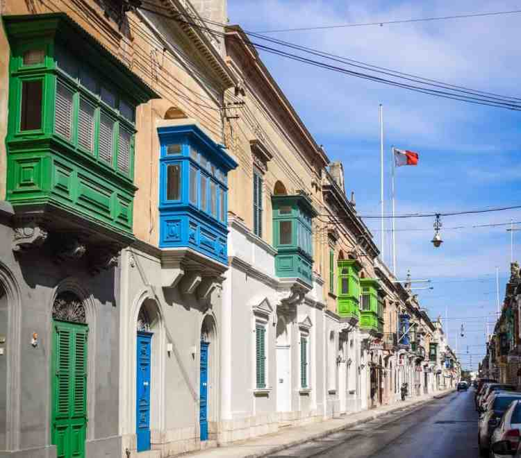 Malta - Mosta - Maltese Balconies
