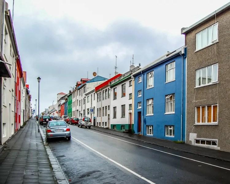 Iceland - Reykjavik - Colorful Houses