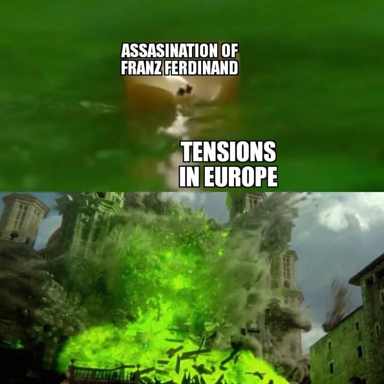 World War I Memes