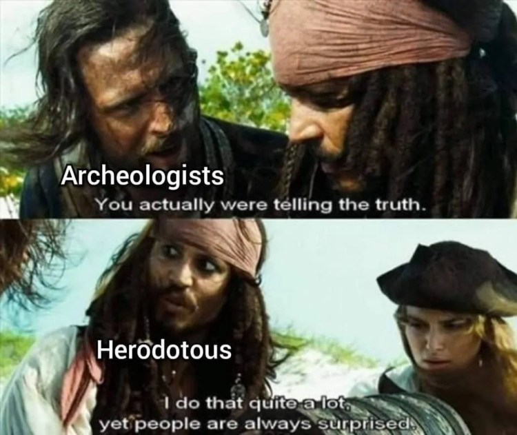 archeologist memes