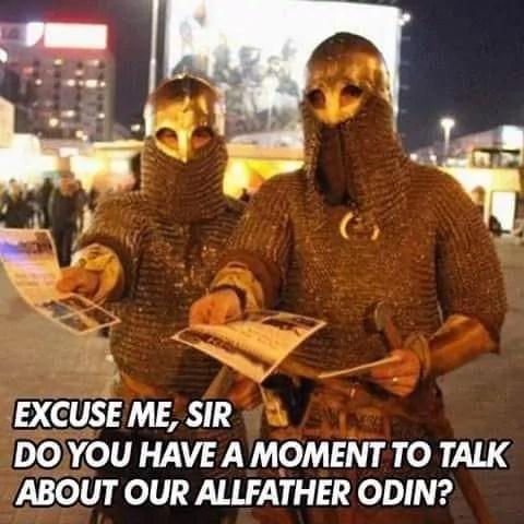 Odin Viking Meme