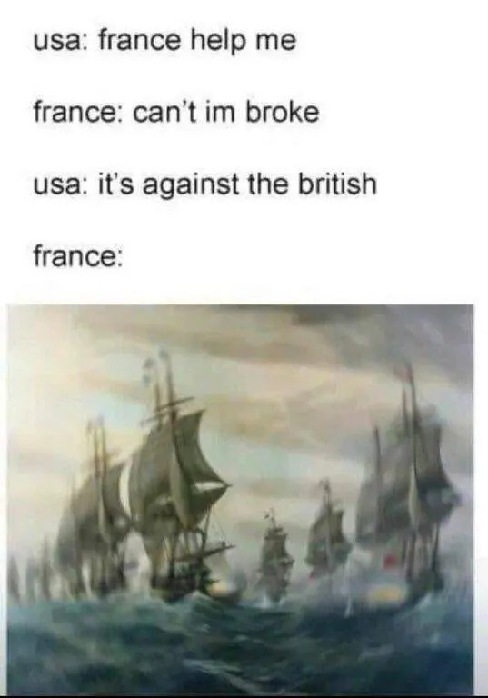 American War of Independence Meme
