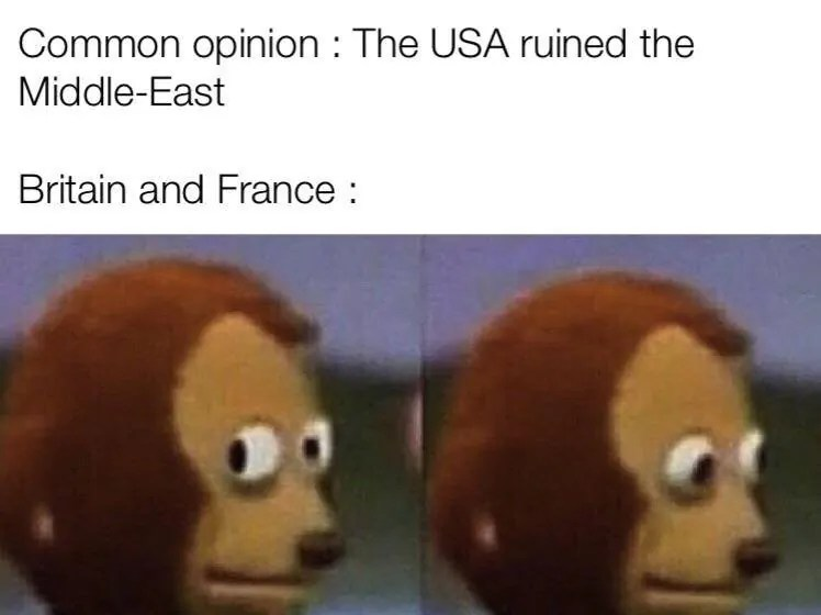 Middle East History Meme